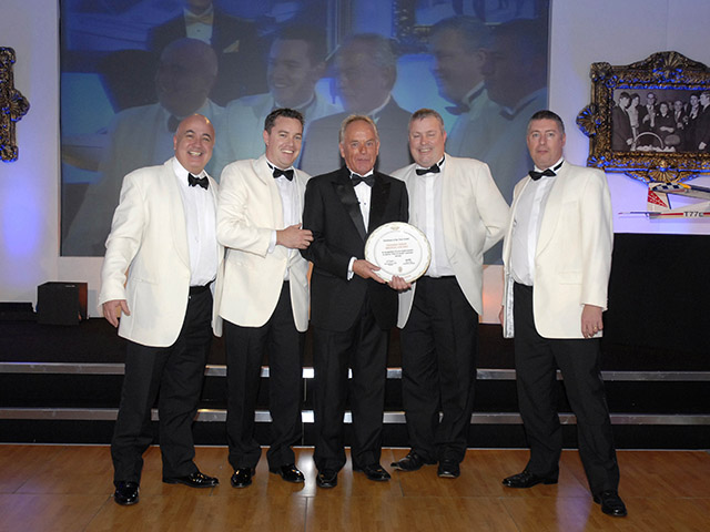 Sunseeker Distributor of the Year Award 2011
