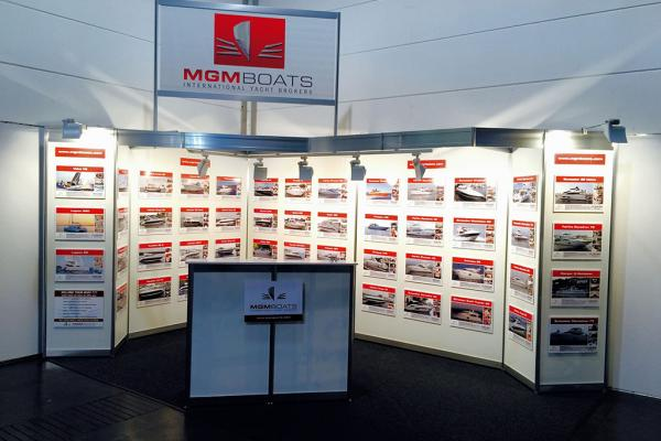 Dusseldorf boat show stand  2017